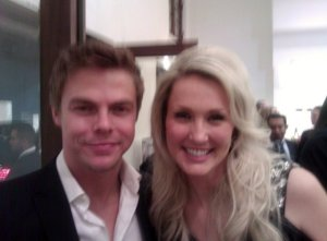 Derek Hough and Shannon Harms