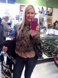 Another new outfit Dolce & Gabbana jacket Bellevue Goodwill Designer Sale