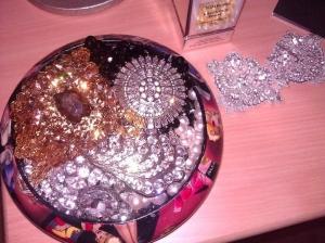 New Badgley Mischka Gold Bracelets