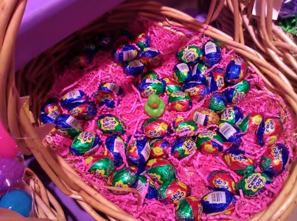 Lucky duck loves cadbury eggs at easter shannon truax easter basket cadbury bunny cadbury eggs negle Image collections