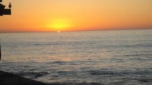 Sunset at La Jolla Cove San Diego CA