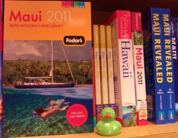 Travel Books Maui at Borders Books