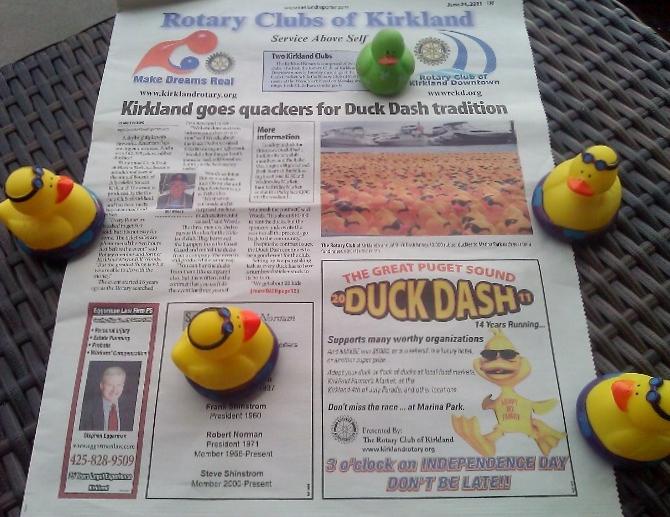 The Kirkland Duck Dash