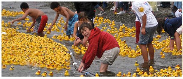 Duck Dash at Kirkland Marina