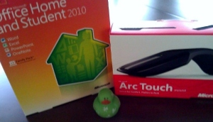 Microsoft Arc Touch and Microsoft Office Home