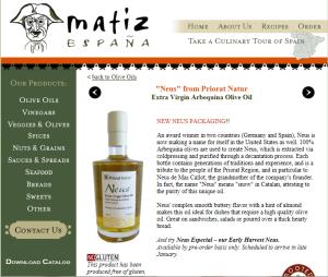 Neus olive oil