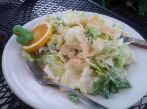 Caesar salad at LunchBox Laboratory