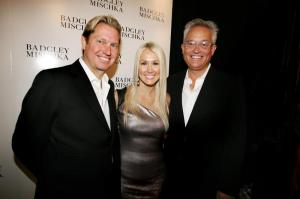 Shannon Harms with Mark Badgley Mischka and James Mischka