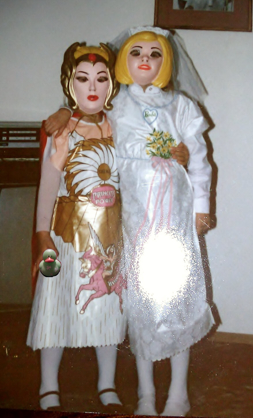 She-Ra and Barbie Bride costumes  sc 1 st  Shannon Truax - WordPress.com & A flashback: My Halloween costumes when I was a kid in the 80u0027s ...
