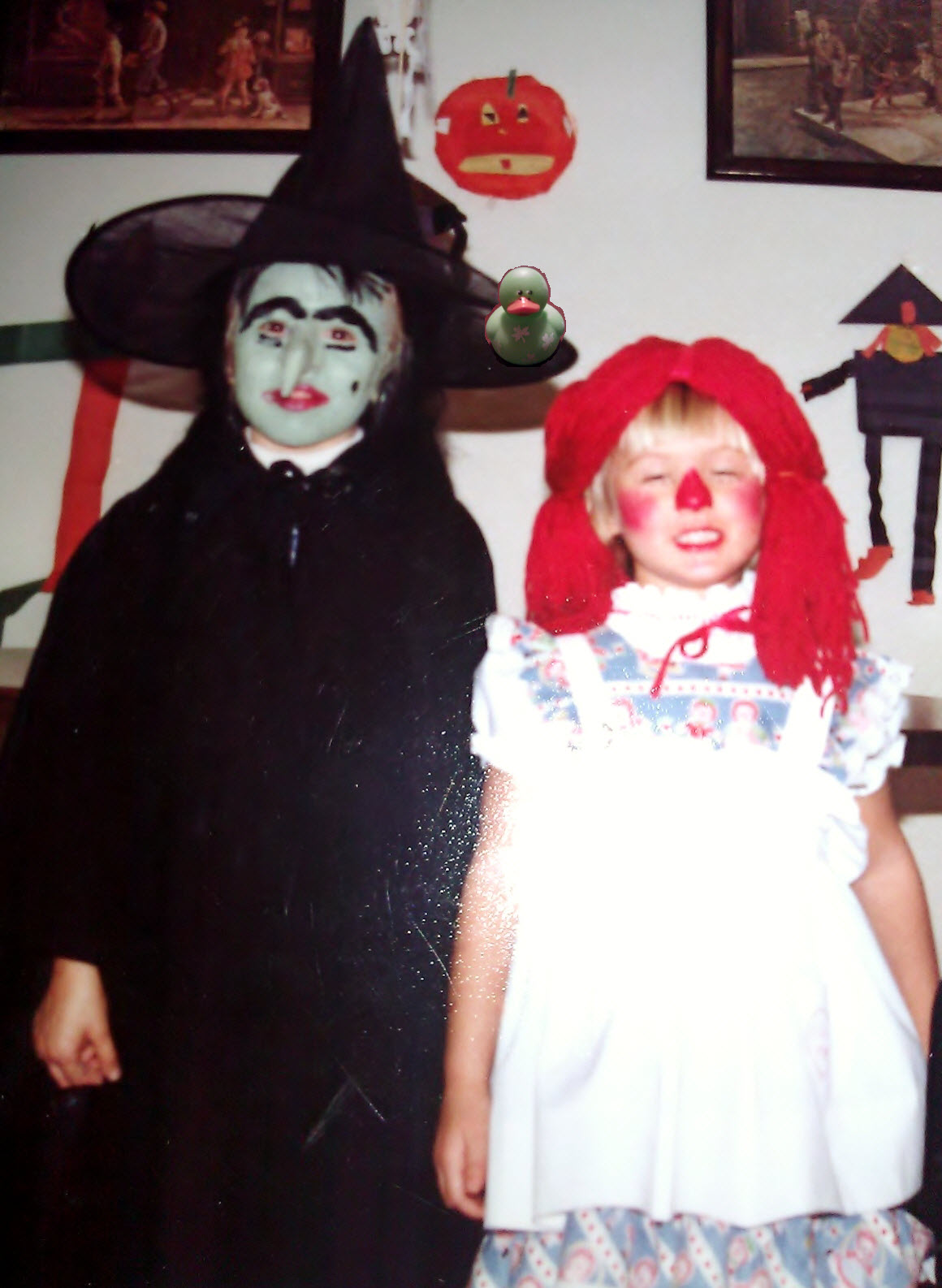 A flashback: My Halloween costumes when I was a kid in the 80's ...