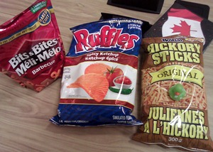 Snacks from Canadian Favourites