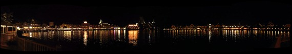 Disney Boardwalk Panorama