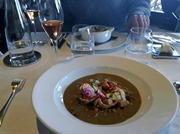 Soup at Le Jules Verne