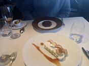 Dessert at Le Jules Verne