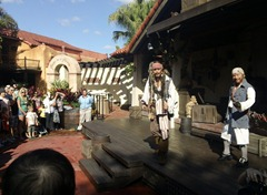 The Pirate show by the ride