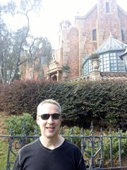 Mike at The Haunted Mansion