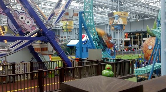 The Mall of America Nickelodeon Theme Park