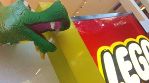 Lego World at MOA