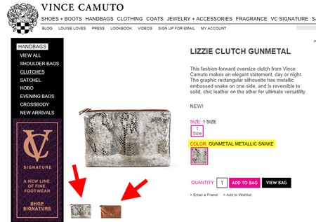 Lizzie clutch