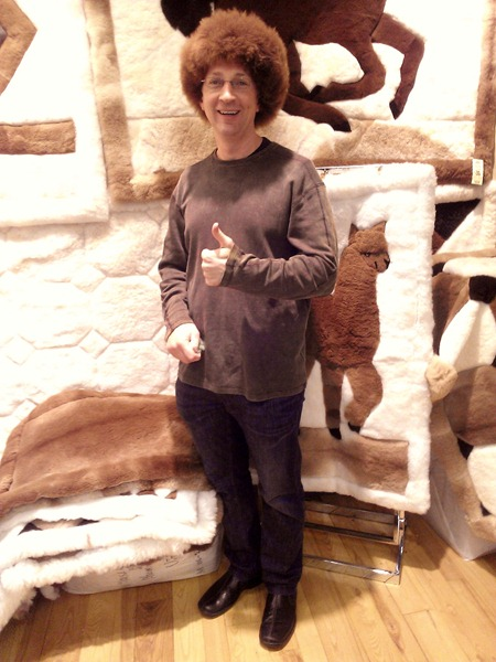 Mike loves Alpaca World