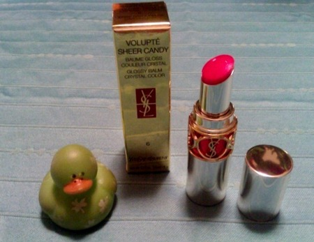 YSL Volupte Sheer Candy No. 6