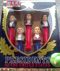 PEZ Presidents dispensers