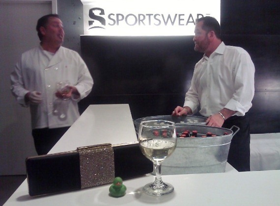 New Year's Eve at Sportswear Inc.