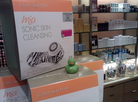 Clarisonic brush for your face is a must
