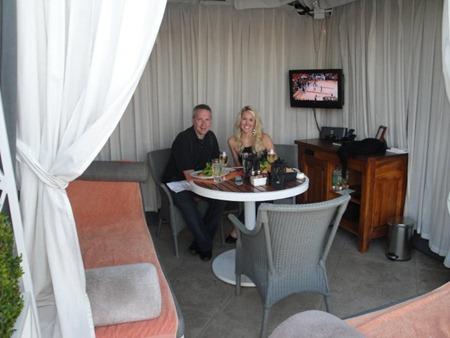 Peninsula Beverly Hills Cabana