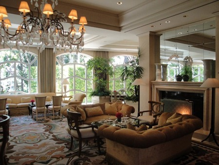 Peninsula Beverly Hills Living Room