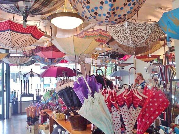 Bella Umbrella in downtown Seattle