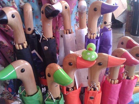 Duck umbrellas at Bella Umbrella