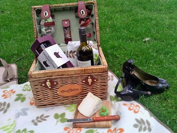 Picnic at Chateau Ste Michelle