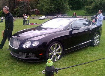 Bentley at the Chateau Ste Michelle Car Show