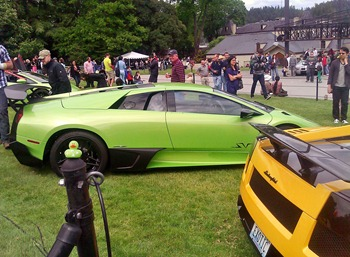 lamborghini at the Chateau Ste Michelle Car Show