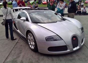 Bugatti at the Chateau Ste Michelle Car Show