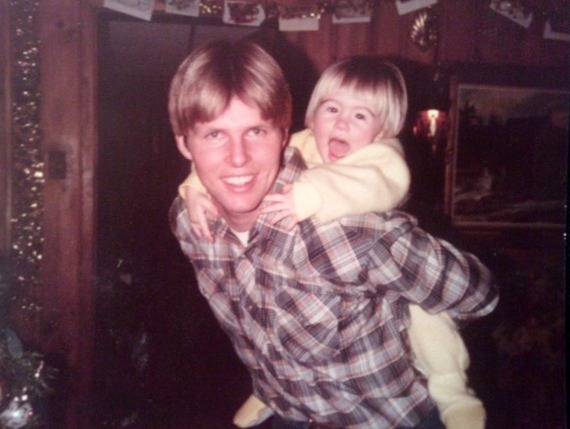 My dad and me