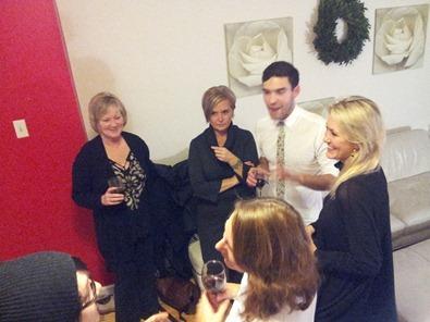 Josh's Christmas party