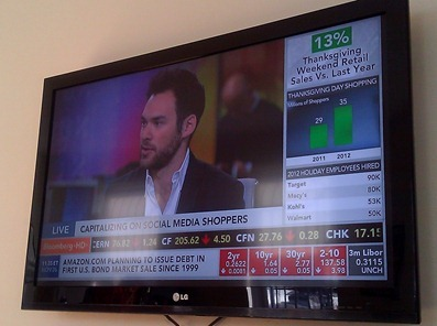 Josh March on Bloomberg