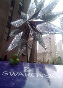 Swarovski Star at Rockefeller Center