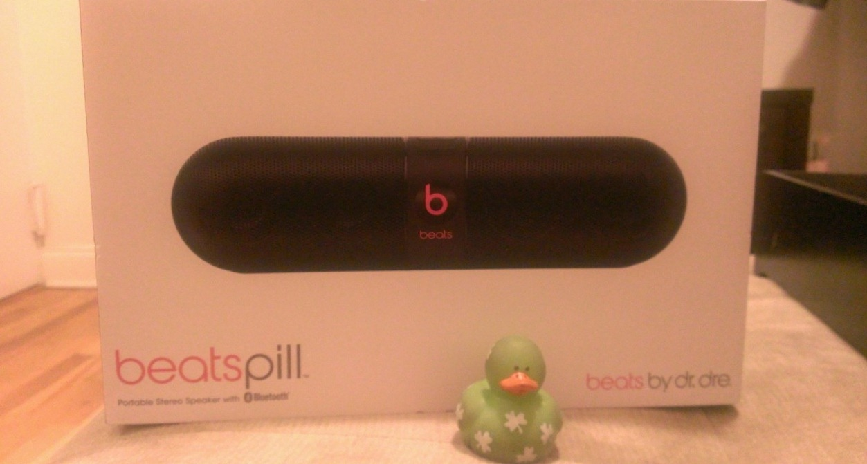 How have I lived without the Beats Pill, by Dr. Dre?