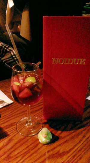 Sangria at Noi Due