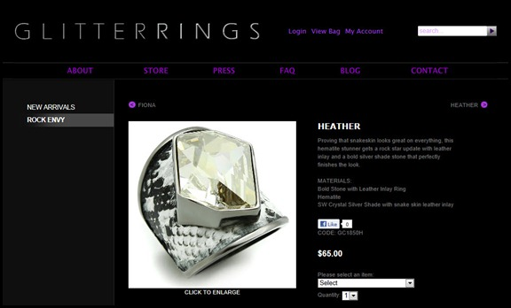 Glitterrings