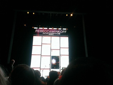 Rebecca Minkoff show at Fashion Week