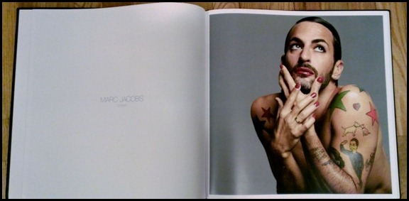 Marc Jacobs in NARS 15x15 book
