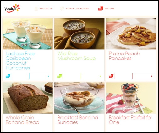 Yoplait Recipes