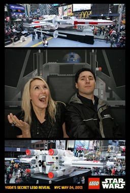 Joe and I on the X Wing