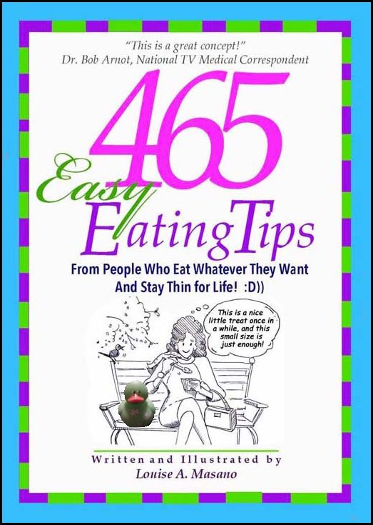 Lucky Duck loves 465 Easy Eating Tips