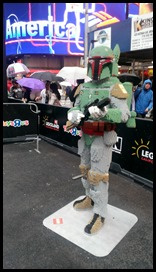 Lego Star Wars in Times Square Boba