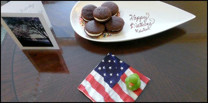 Happy Birthday to Kris, from The Four Seasons Washington DC